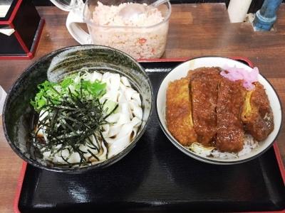 150501さらしな味噌かつ丼セット800円