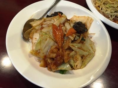 150520中華料理龍美長者町店選べる麺と丼セット780円回鍋丼