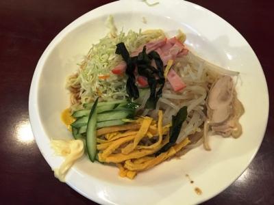150520中華料理龍美長者町店選べる麺と丼セット780円冷麺