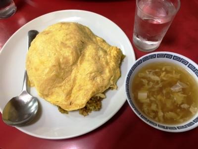 150527中国料理龍門天津カレー炒飯790円
