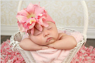 Candy Pink Soft Headband