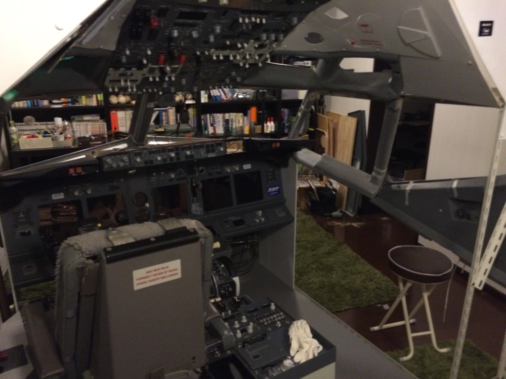 Haru Boeing 737 Home Cockpit For Fsx Full Mip Diy With