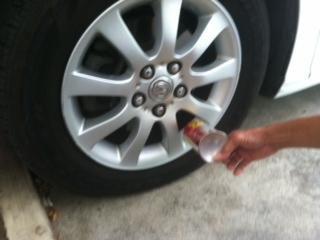 falt tire