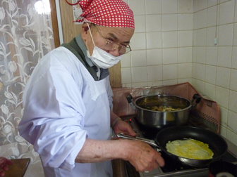 薄焼き卵3
