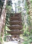 羽黒山五重の塔
