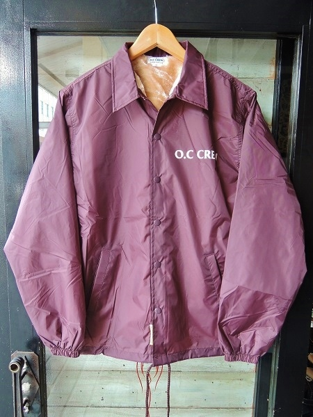 OC CREW NYLON BOA COACH JACKET (9)