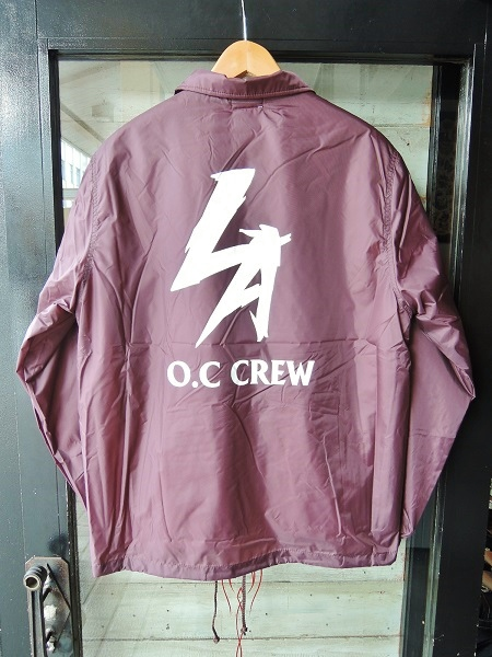 OC CREW NYLON BOA COACH JACKET (15)