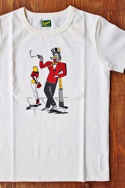DELINQUENT BROS WOLF TEE (2)