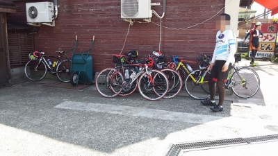 参加者のバイク1