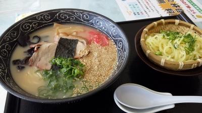 豚骨ラーメン+替え玉