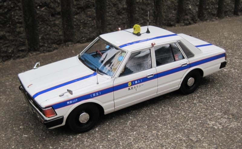 アオシマ 430 セドリックセダン スタンダード 個人タクシー