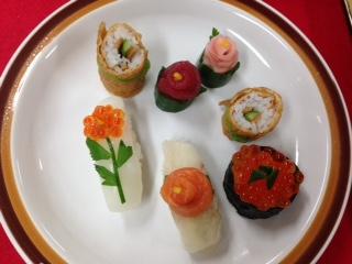 トッピング寿司