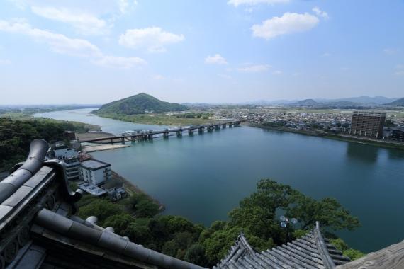 犬山城からの眺め1ーS