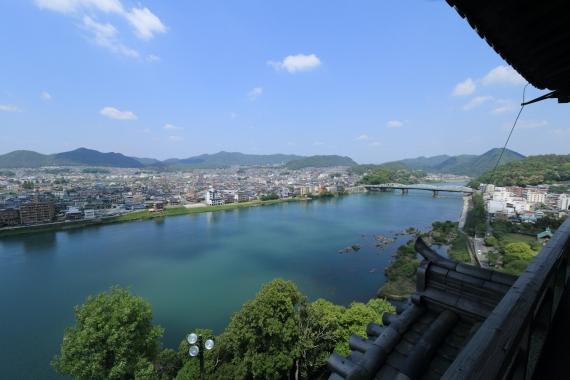 犬山城からの眺め2-S