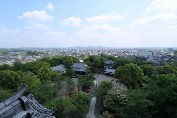 犬山城からの眺め3-S