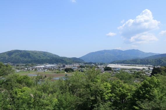 笹尾山からの風景ーS