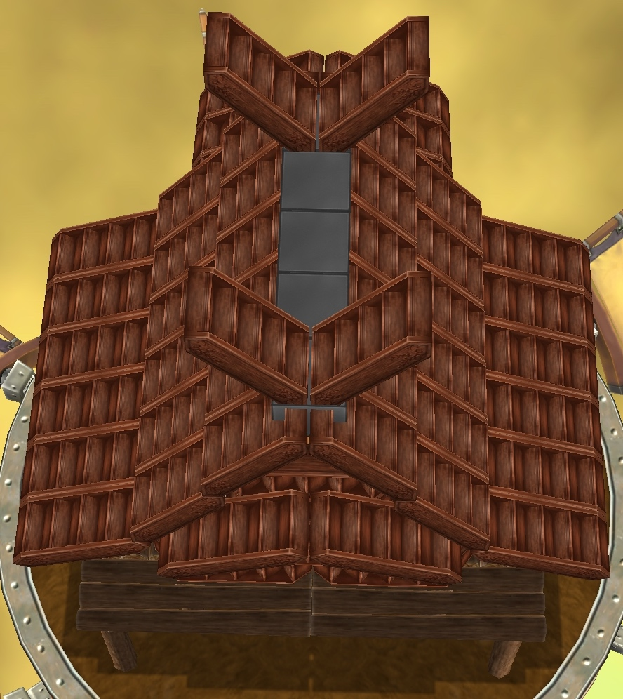 07_階段で作った屋根