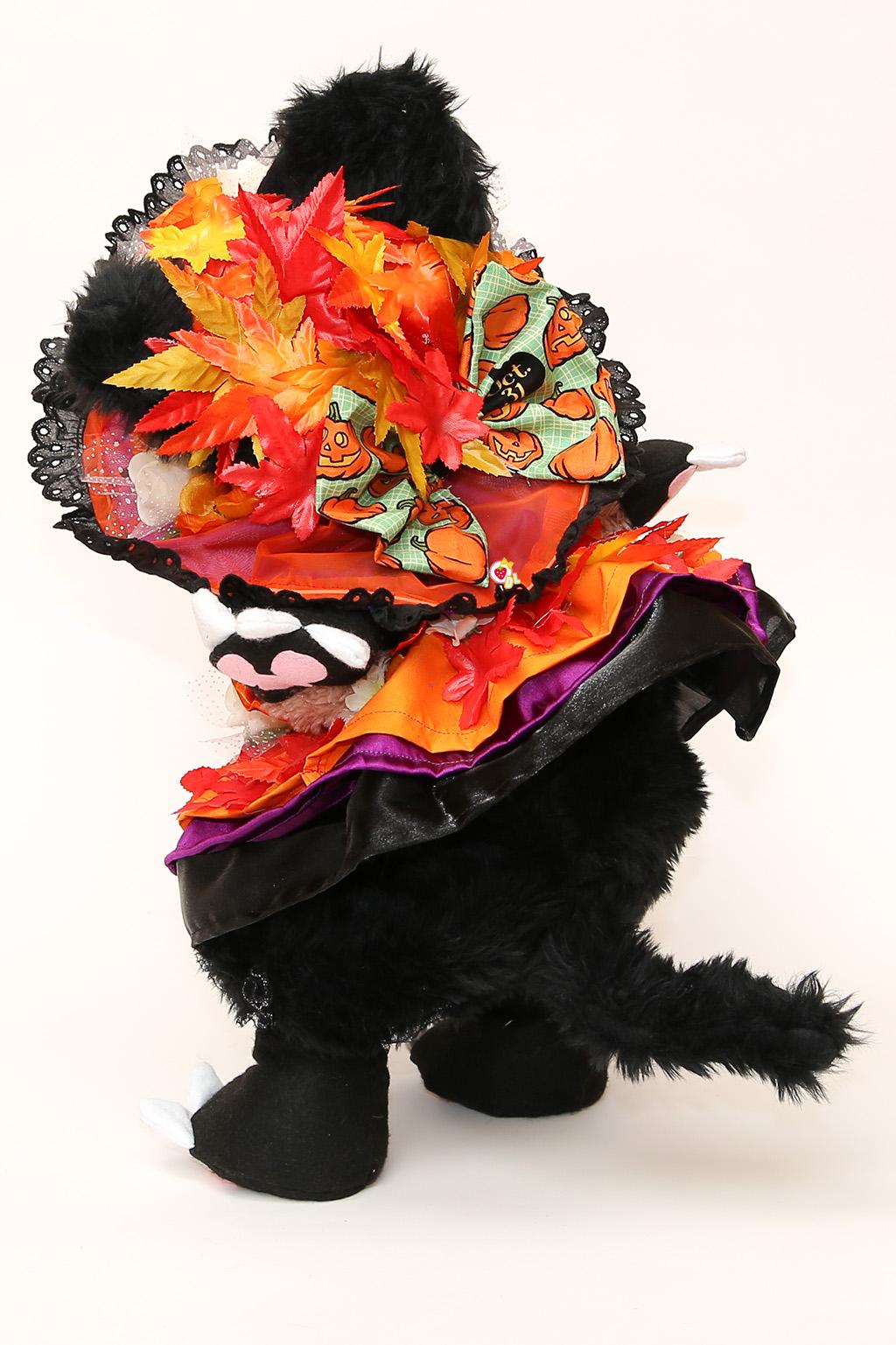季節先取り?秋の黒猫コス3