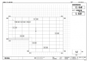 太陽光パネル図面2