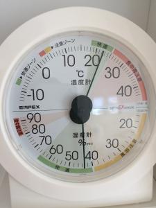リビング湿度計