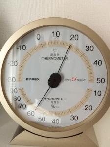 洗濯室内の気温