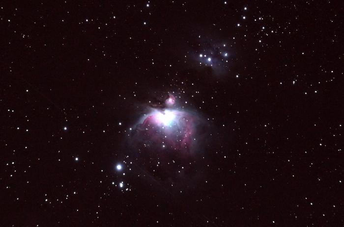 オリオン大星雲M42(2015年1月24日)