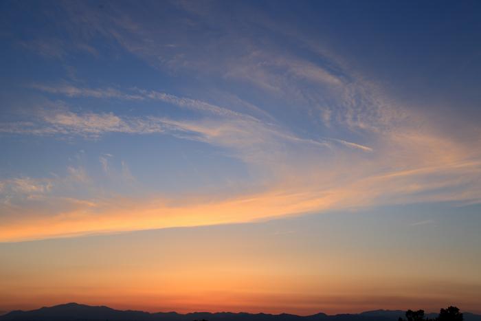 2015年5月16日の夕焼け雲2