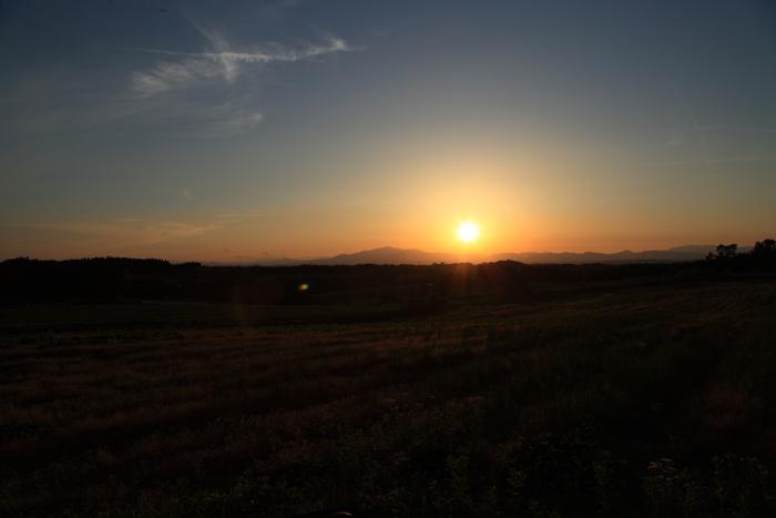 2015年5月16日の夕日