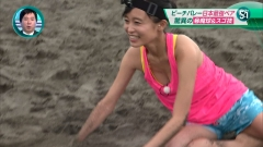 小島瑠璃子ビーチバレー画像1
