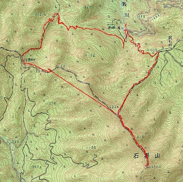 s-石墨山トレース