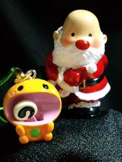サンタとみかんマスコット