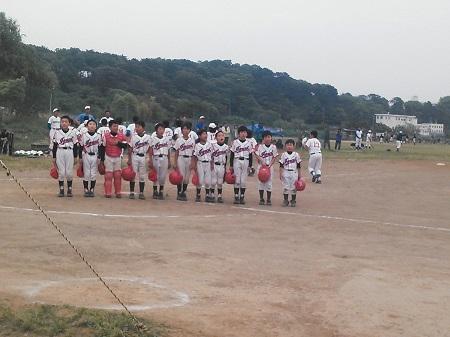 20150509 新人チーム練習試合 終了