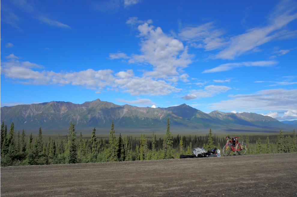 カナダの山20150629
