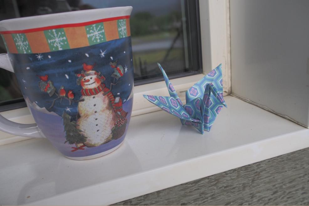 カナダの折り鶴20150702