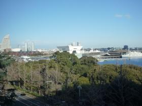 大桟橋と赤レンガ倉庫