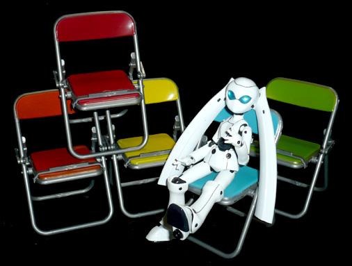エール リアル折りたたみパイプ椅子