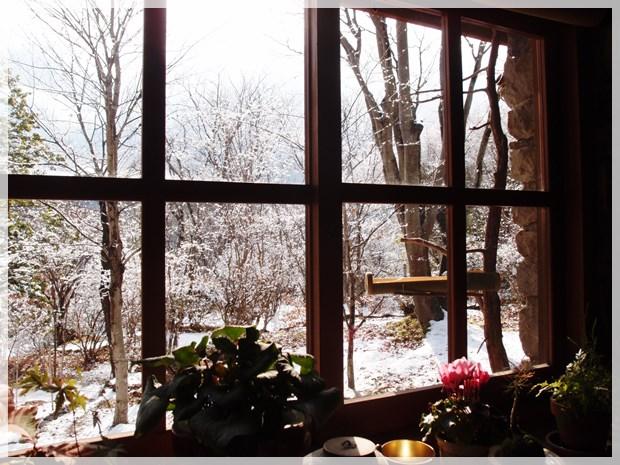 雪景色とこんなに親しんでいいのか、12月だというのに