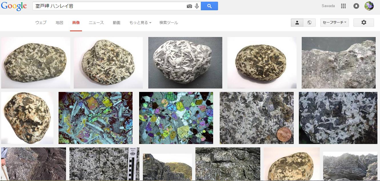 高知県室戸岬のハンレイ岩 優白質ハンレイ岩