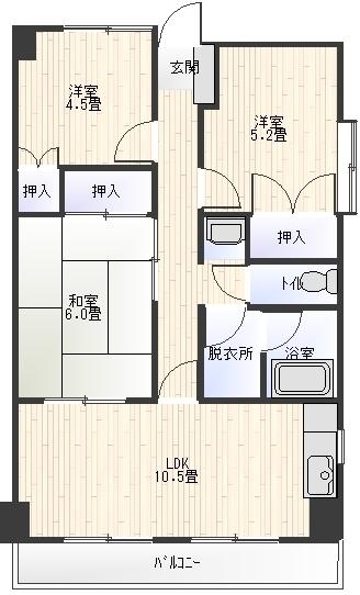 メゾンAKI502間取