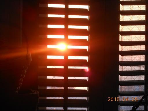 26日夕陽