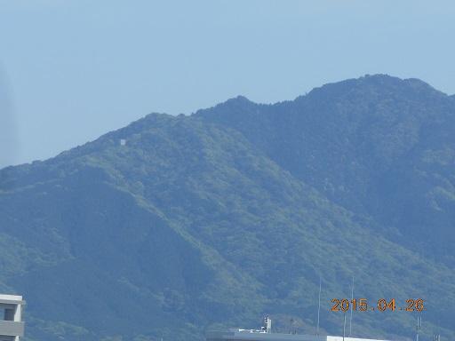 26日山稜線