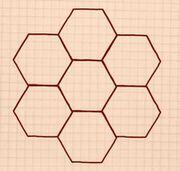 ミツバチ正六角形fc2