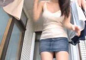 夢乃あいか豊かなバストの若妻あいかは窮屈な上着とブラジャーFC2動画