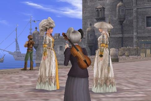 白カメレオン姫2