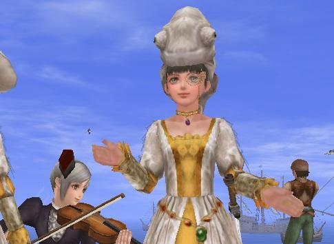 白カメレオン姫4