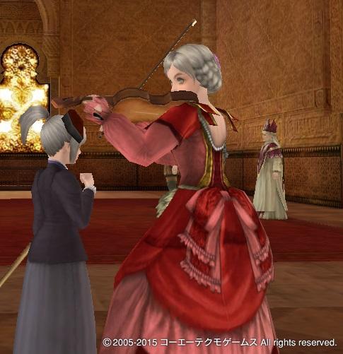 ゾフィー特注ドレス2