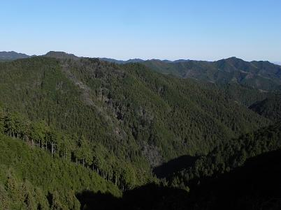 天覚山・大高山方面