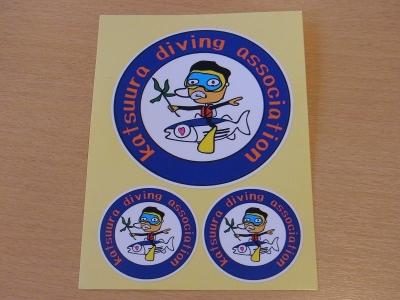 03-20 ダイビング協会オリジナルステッカー