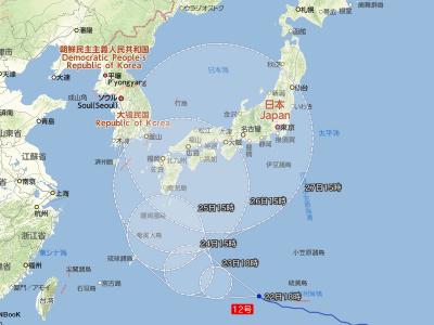 07-22 台風の進路