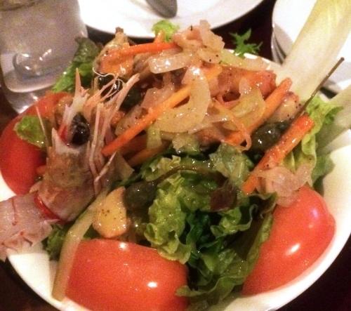 13シーフードサラダ